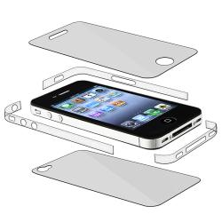 Full Body and Edge Protectors for Apple iPhone 4 AT&T