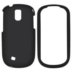 Black Snap-on Rubber Coated Case for Samsung Gravity Smart