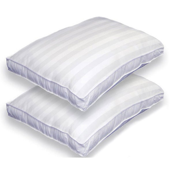 Beautyrest Twin Pack Bed Pillows with Invista Dacron Fiberfill