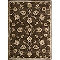 Nourison Hand-tufted Superlative Brown Rug (7'6 x 9'6)
