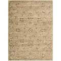Nourison Hand-tufted Superlative Gold Rug (3'6 x 5'6)