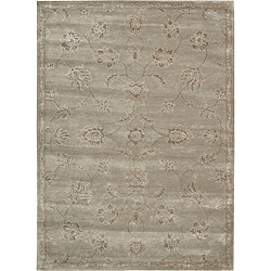 Nourison Hand-tufted Superlative Grey Rug (3'6 x 5'6)