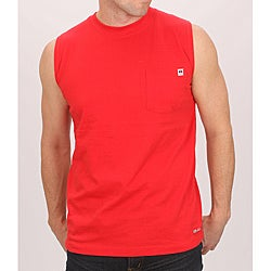 Farmall IH Men's Red Cotton Muscle Tee