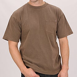 Farmall IH Men's Brown Cotton Pocket T-shirt