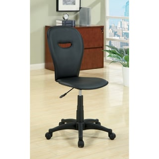 Compact Cori Leatherette Office Chair