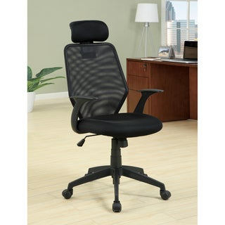 Furniture of America Covington Web Mesh Adjustable Office Chair