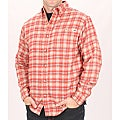 Farmall IH Men's Red Plaid Flannel Shirt