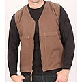 Farmall IH Men's Brown Canvas Sherpa Vest