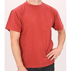 Farmall IH Men's Red Cotton Pocket T-shirt