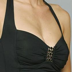 Jantzen Black Tankini and Hipster Bottom Bikini Two-piece Swimwear
