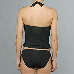 Jantzen Black Tankini and Hipster Bottom Bikini Two-piece Swimwear