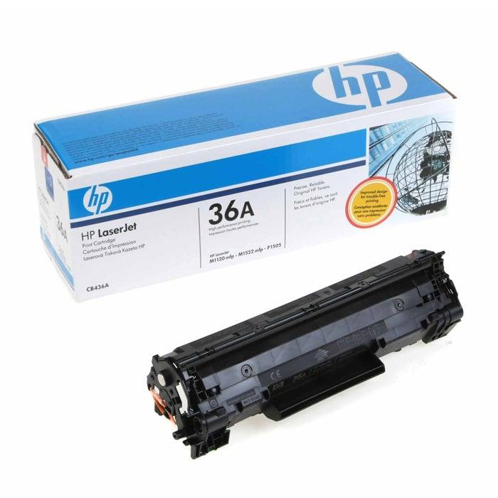 HP CB436A 36A Black Toner Cartridge