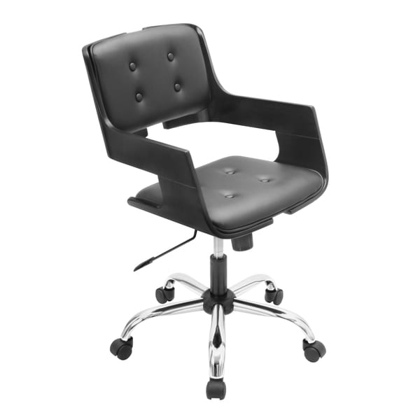 LumiSource Banco Bent Wood Office Chair
