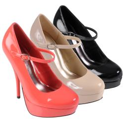 Journee Collection Women's 'Nicole-16' Platform Mary Jane Pumps
