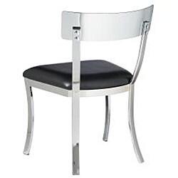 Sunpan Maiden Metal Black Dining Chairs (Set of 2)