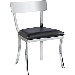 Sunpan Maiden Metal Black Dining Chairs (Set of 2)