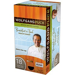 Wolfgang Puck WP791016 Breakfast in Bed Medium Roast Single Cup Coffee Pods (108-count)
