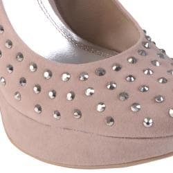 Hailey Jeans Co Women's 'Taffy-26' Embellished Platform Pumps