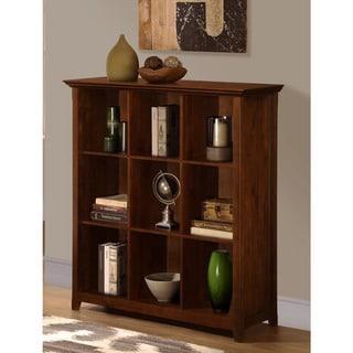 Normandy Tobacco Brown 9 Cube Bookcase & Storage Unit