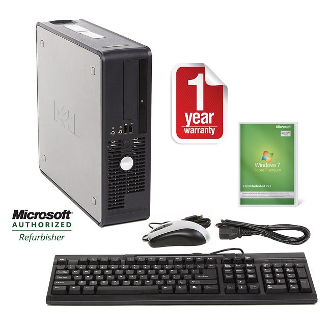 Dell OptiPlex 755 1.6GHz 160GB SFF Computer (Refurbished)