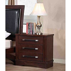 Padova 3-drawer Nightstand