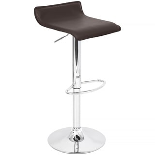 Brown Ale Hydraulic Barstool