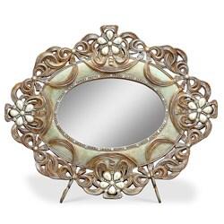 Vintage Rose Mirror