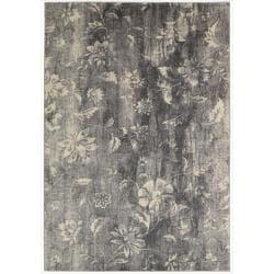 Nourison Utopia Grey Abstract Rug (9'6 x 13')