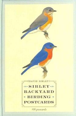 Sibley Backyard Birding Postcards (Postcard book or pack)