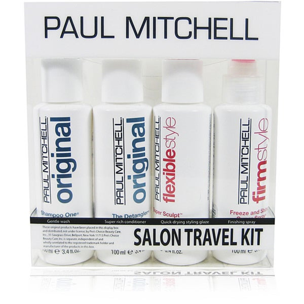 Paul mitchell 4 piece salon travel kit 14256576 for A paul mitchell salon