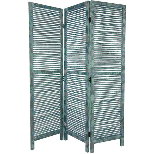 Tall Rustic Venetian 5.5' Room Divider (China)