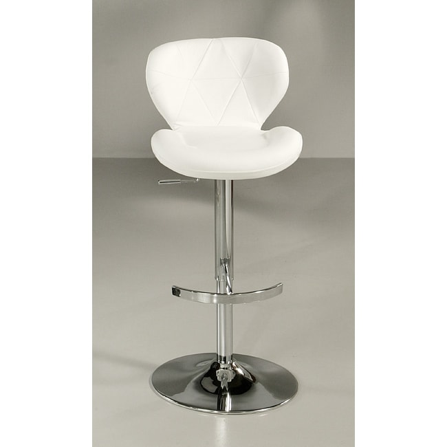 Aegean Coast Ivory Hydraulic Bar Stool