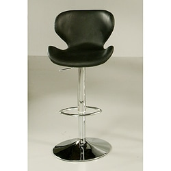 Cagliari Black Hydraulic Bar Stool