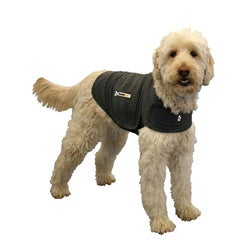 Medium Heather-gray Cotton Thundershirt Fits 18-inch to 26-inch Chest