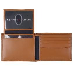 Tommy Hilfiger Men's Logo Leather Bifold Wallet