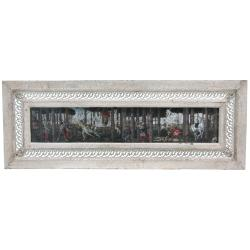 Rustic Renaissance Framed Painting (China)