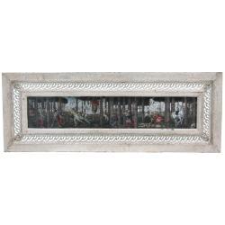 Rustic Renaissance Framed Painting (China)