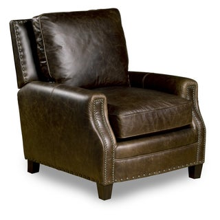 Bradford Leather Chair in Chaps Havana Brown