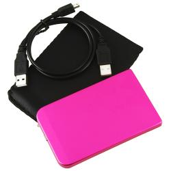 2.5-inch Hot Pink SATA HDD Enclosure