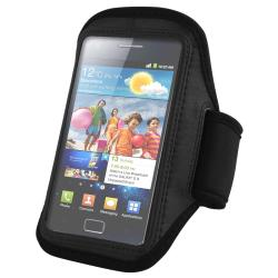 Black Adjustable Armband for Samsung Galaxy S II i9100