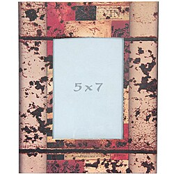 Vintage Abstract 5x7-inch Picture Frame (China)