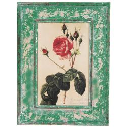 Rustic Rose Framed Painting (China)