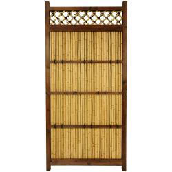 Japanese Bamboo 6x3-foot Zen Garden Fence (China)