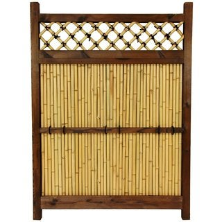 Japanese Bamboo 4x3-foot Zen Garden Fence (China)