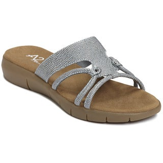 A2 by Aerosoles Women's 'Wip Current' Blue Sandals