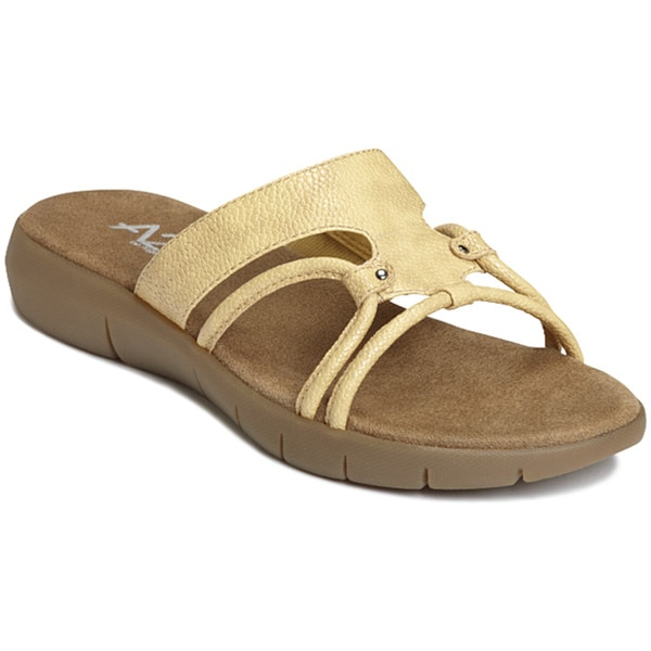 A2 by Aerosoles Women's 'Wip Current' Tan Sandals