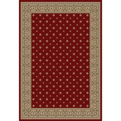 Dallas Formal Red Area Rug (6' 7 x 9' 6)