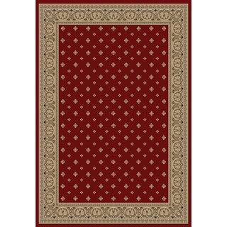 Dallas Formal Red Area Rug (6' 7 x 9' 6)