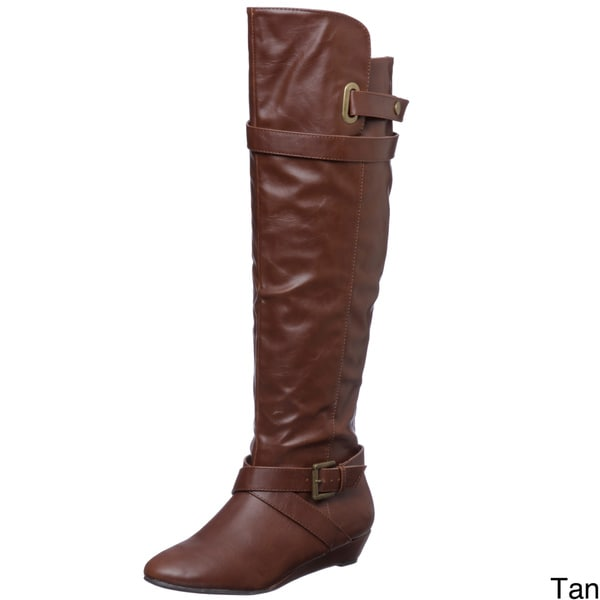 Madden Girl Women's 'Zeda' Riding Boots FINAL SALE