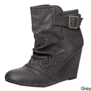 Madden Girl Women's 'Vermonnt' Wedge Booties